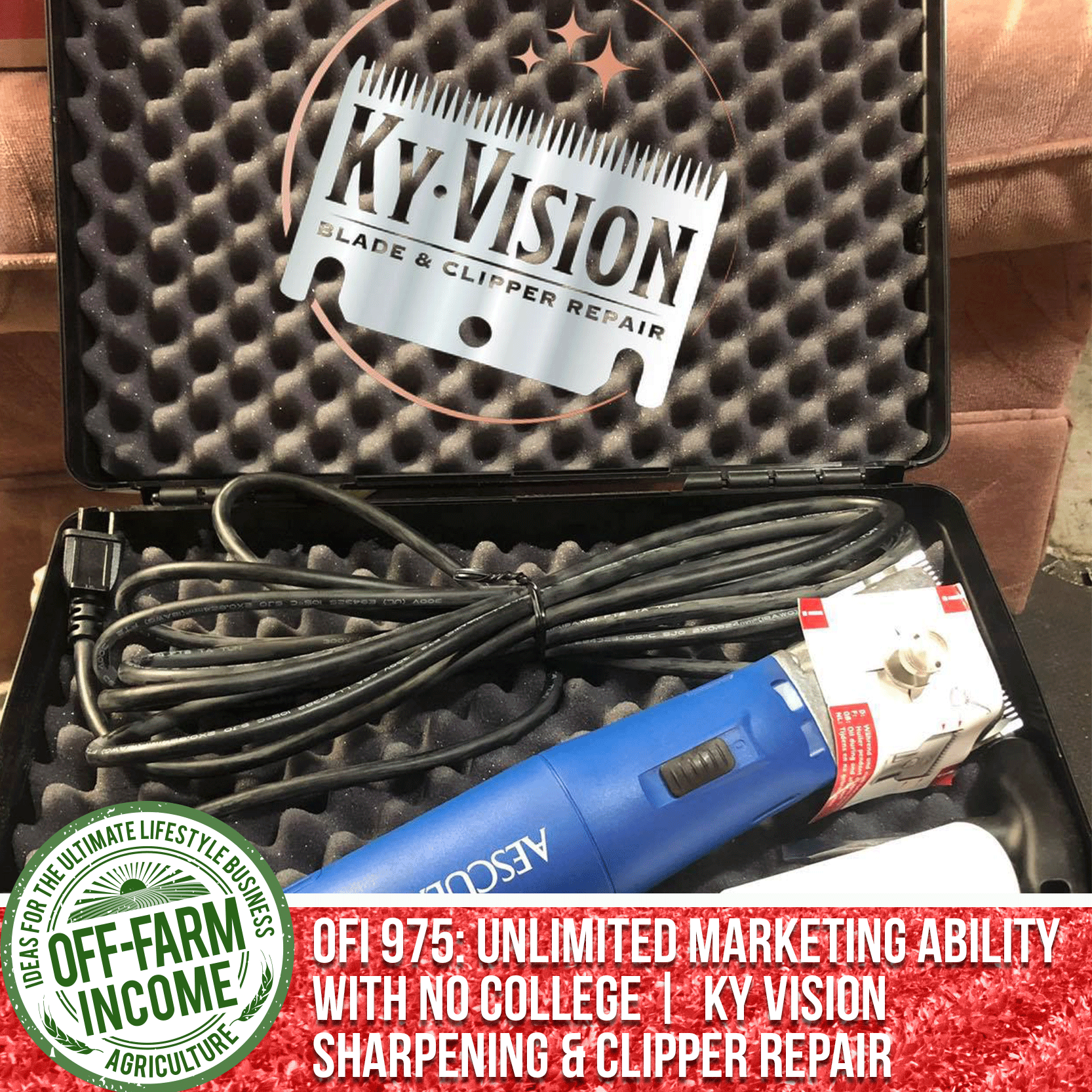 OFI 975: Unlimited Marketing Ability With No College | Kyle Stockdale | KY Vision Sharpening & Clipper Repair